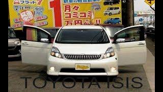 Краткий обзор Toyota Isis 2010 года из Японии. г. Новосибирск