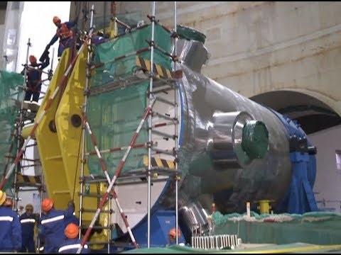 Reactor Pressure Vessel for Hualong One under Installation in east China