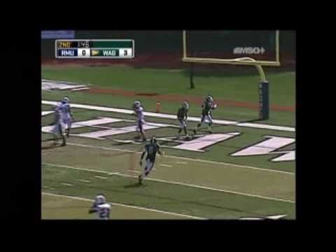 Robert Morris-Wagner Football Highlights (9/25/10)