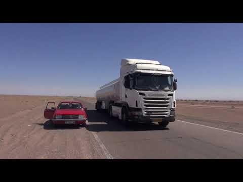 Driving across Iran