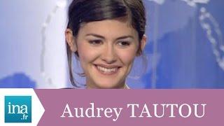 Le cinéma d'Audrey Tautou - Archive INA