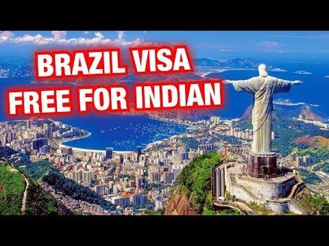 Brazil Visa free for INDIAN.. NO NEED VISA FOR BRAZIL ( SOUTH AMERICA )