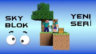 Minecraft Sky Blok Bölüm 1 W/Rahim -Kırıktaş Kaynağı Nasıl Yapılır?-