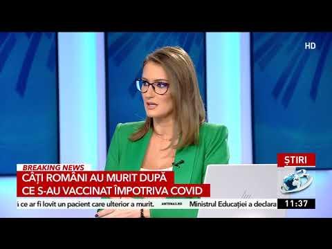 Câți Români Au Murit, în Realitate, După Ce S-au Vaccinat Anti COVID. Date Oficiale INSP