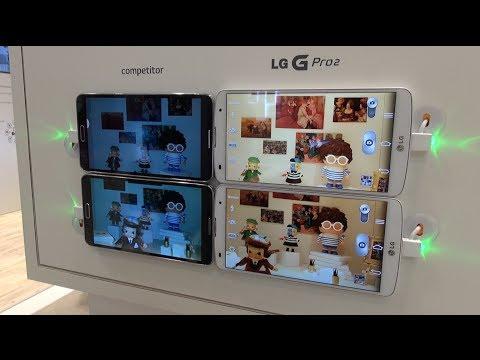 LG G Pro 2: Hands-on Demos