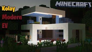 Minecraft: Küçük ve Kolay Modern Bir Ev Nasıl Yapılır - Eğitimi (#1)