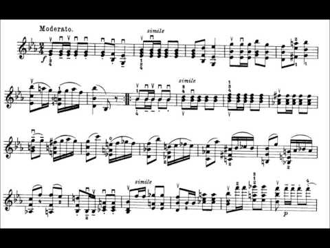Niccolò Paganini - Caprice for Solo Violin, Op. 1 No. 14 (Sheet Music)