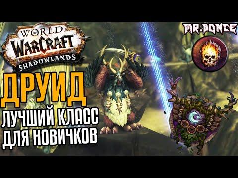 ДРУИД - Лучший класс для новичков! Изменения в World of Warcraft Shadowlands 9.1