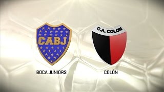 Boca Juniors vs Colon de Santa Fe full match