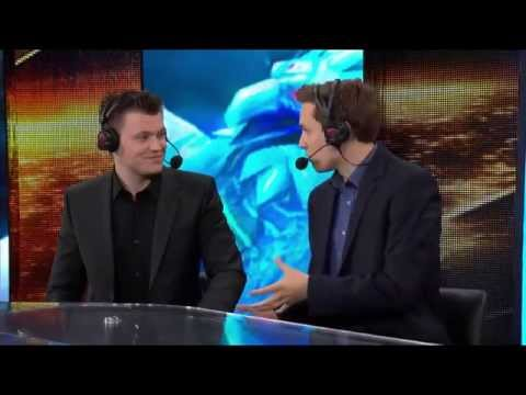 Taipei Assasins vs Fnatic post-match Analyst desk with Krepo and Monte | All-star 2014 Paris