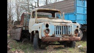 Парень купил у деда старый  ГАЗ 53, восстановил ДО ИДЕАЛА./ фото наброски как восстановить ГАЗ 53(, 2018-08-11T16:19:54.000Z)