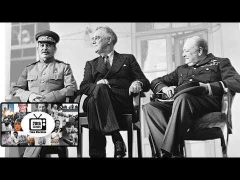 Footage of the Cairo and Teheran Conference of 1943 (Silent Film)