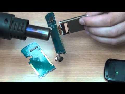 Замена подложки дисплея samsung E250