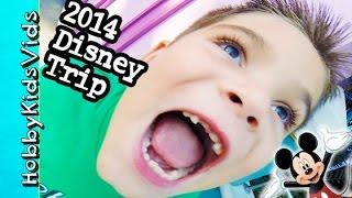 2014 disneyland trip roller coaster rides california adventure hobbykidsvids