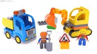 конструктор Lego Truck and Tracked Excavator 10812