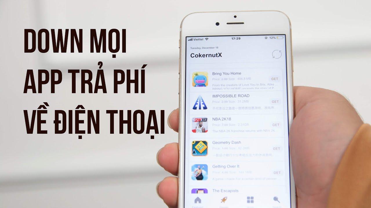 Tải mọi ứng dụng trả phí bạn thích về máy – Unbelievable: Get any app with no fee only by this app!
