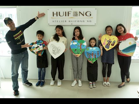 Brunei Art Symposium World Heart Day Atelier video