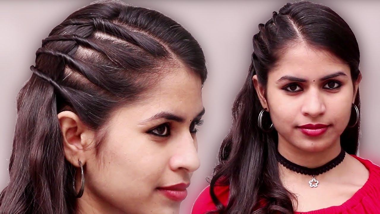 bollywood actress inspired hairstyle ★ party hairstyle at last minute ★hairstyles ★ easy hairstyles