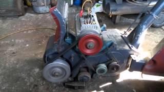 видео Паркетошлифовальная машина СО-206.1А
