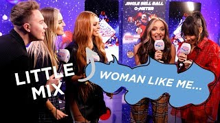 Little Mix Sing 'Woman Like Me' Doing Impressions Of Iconic Women