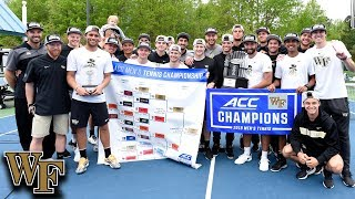 Wake Forest Takes Home The 2019 ACC Men's Tennis Championship