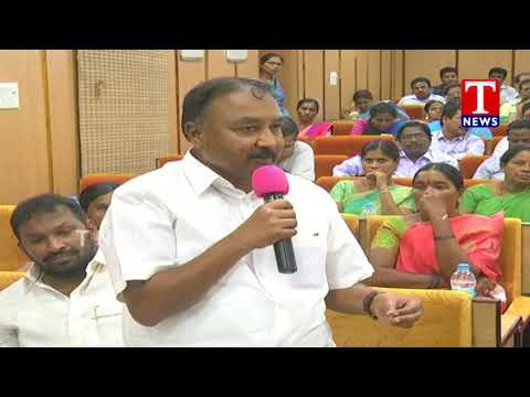 Chair Person Padma Starts Warangal ZP Meeting |  TRS Leaders Participated | T News Live Telugu