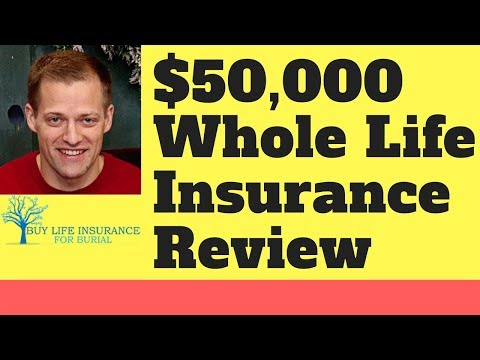 50000 Whole Life Insurance Review [Rates & Companies Revealed]