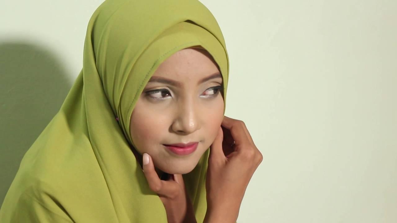 12 Tutorial Jilbab Segi Empat By Hijabeer Diamond Italiano YouTube