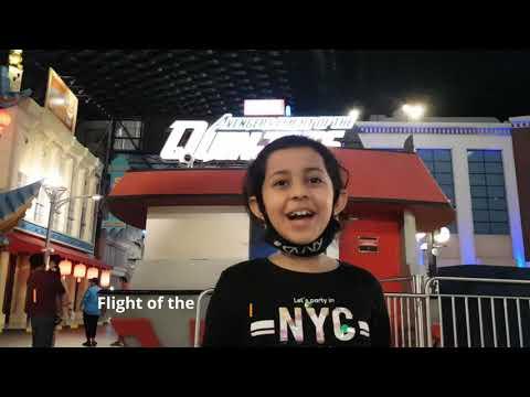 IMG World of Adventure | Explore with Umaiza | Dubai