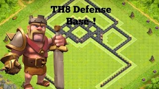 Clash of Clans   Th8 Best Champion Defense/Pushing Base Layout