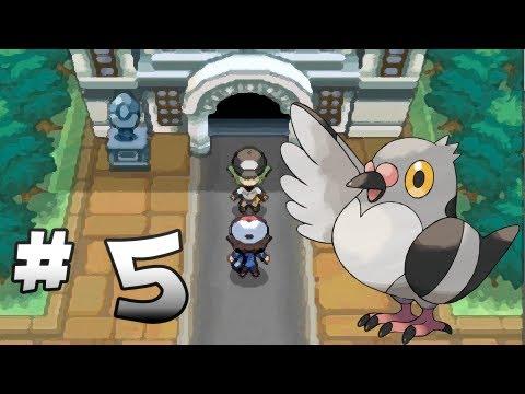 Let's Play Pokemon: Black - Part 5 - Nacrene City