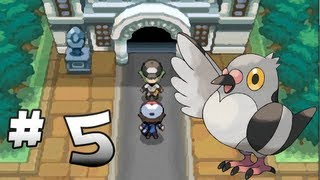 Let's Play Pokemon: Black - Part 5 - Nacrene City