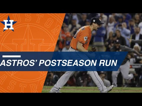 Look Back At The Astros' Epic 2017 Postseason Run As They Win The World Series