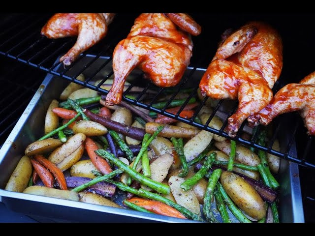 Asparagus, Carrots & Potatoes #JulyMonthOfGrilling | CaribbeanPot.com