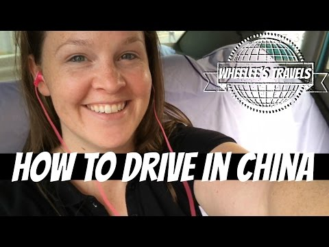 How to Drive in China | Dalian, China | Wheelee's Travels