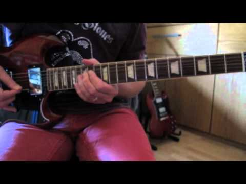 Rolling Stones Time waits for No One guitar Lesson closeúp & slowdown.avi