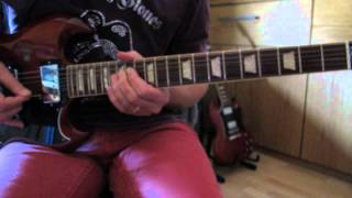 Rolling Stones Time waits for No One guitar Lesson closeúp & …