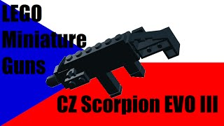 LEGO Miniature Guns: CZ Scorpion EVO III
