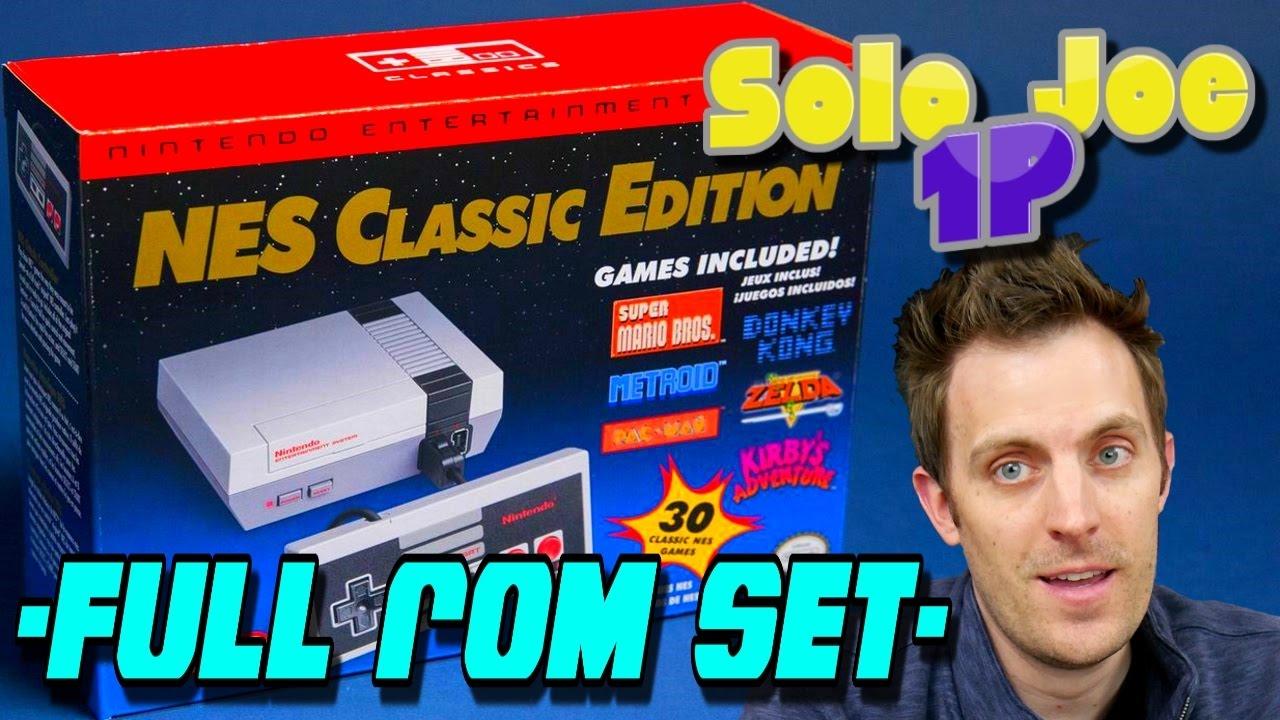 NES Classic Edition 700+ Games - Full USA Rom Set Hack - Max Your Mini with  Hakchi (Joe & Joe 2P)