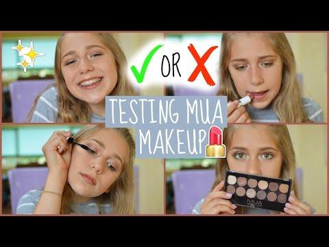 Testing MUA Makeup! | EvieEllen