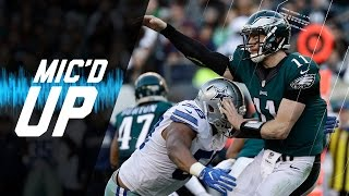 Carson Wentz Mic'd Up Finishes His Rookie Season in Week 17 vs. Cowboys | NFL Films | Sound FX
