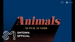 SUPER JUNIOR 슈퍼주니어 'Animals' Visual Pack thumbnail