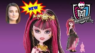 Draculaura Doll  From the Monster High 13 Wishes Haunt the Casbah Series