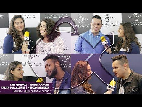 Luiz Queiroz, Talita Magalhães, Hudson Almeida e Rafael Chagas [Universal Music]