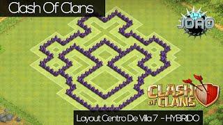 Clash Of Clans - Layout Centro De Villa 7 [HÍBRIDO]