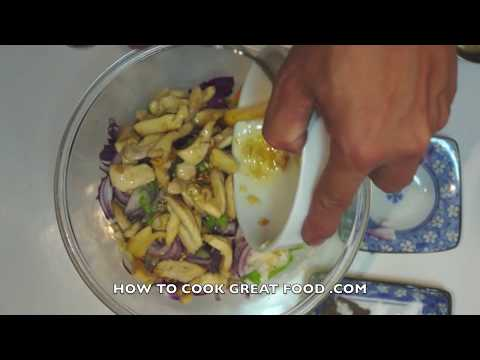 Chinese chicken noodle salad recipe video youtube chinese chicken noodle salad recipe video forumfinder Gallery