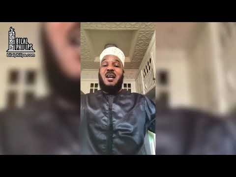 Staying Home is Sunnah – Dr. Bilal Philips