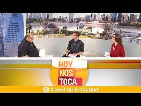 """<h3 class=""""list-group-item-title"""">Conversación y café con Roly Serrano en Hoy nos toca</h3>"""