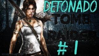 TOMB RAIDER 2013 PC  :GAMEPLAY E DETONADO  (Abrigo protegido e ruinas da foresta )