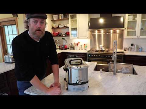 T-Fal Fryer and French Fry Recipe